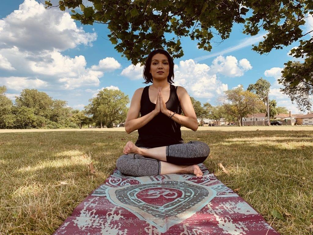 firelog pose yoga